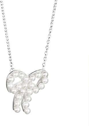 Efva Attling Mini Pearls Bow Necklace Necklaces