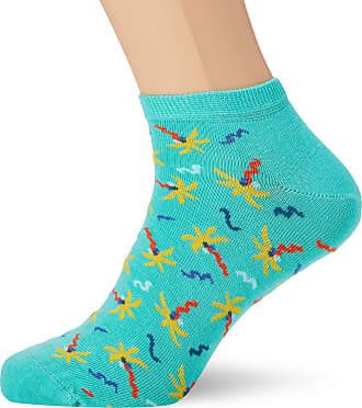 Happy Socks Mens 2-Pack Flamingo Low Sock Ankle (Multicolour 930), 7-10 (Size:41-46) (Pack of 2
