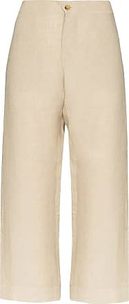 Asceno Weite Antibes Cropped-Hose - Nude