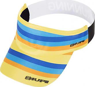 Hupi Viseira para Corrida Hupi Quarteto, Cor: Amarelo/azul, Tamanho: Único