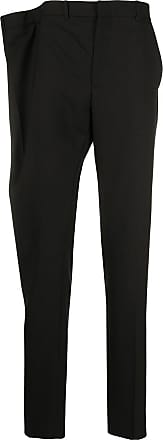 Y / Project asymmetric waist tailored trousers - Black