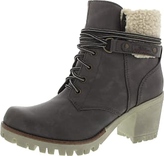 s.Oliver 5-26115-21 Womens Graphite Synthetic Booties, 36 EU 2dd4016e1f