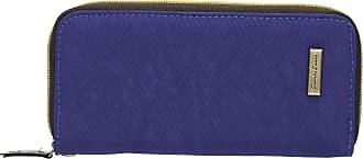 Swankyswans Riley Nylon Womens Zip around Wallet Purse - SwankySwans (Royal Blue)