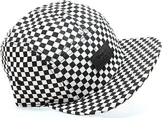 1cabfcf1baf Vans Davis 5 Panel Checkerboard Hats Black White - One Size