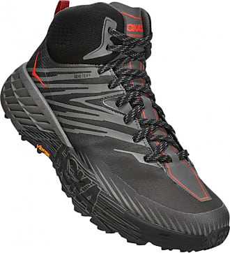 Hoka One One Speedgoat Mid 2 GTX Scarpe da trekking Uomo | rosso/arancione
