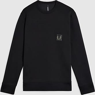 Neil Barrett Travel Pierced Bonded-Sweatshirt