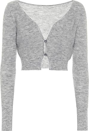 Jacquemus Le Cardigan Alzou cropped mohair-blend cardigan
