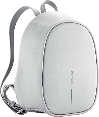 XD Design Elle Fashion Anti-Theft Backpack Light Grey (Womens Bag)