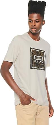 Globe Camiseta Globe Camo Leaf Bege