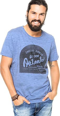 Jack & Jones Camiseta Jack & Jones Estampada Azul