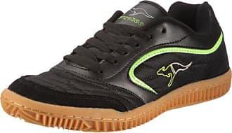 6b11213303 Kangaroos Kangaroos Kennis, Chaussures de sports en salle homme - Noir (581  Black Lime