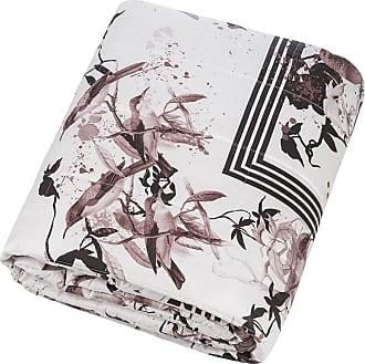 Roberto Cavalli Bird Ramage Quilted Bedspread - 270x260cm - Rose