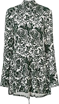 Rosie Assoulin Vestido com estampa paisley - Verde