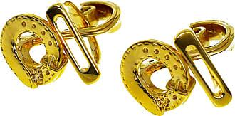 Hermès Stirrup Yellow Gold Cufflinks