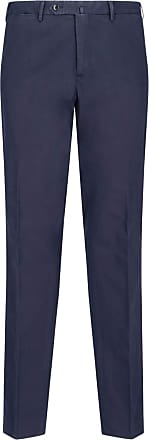 PT01 Fashion Man DL01Z00PA2TU180360 Blue Cotton Pants | Spring Summer 20