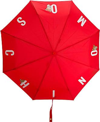 Moschino Ombrello con stampa - Di colore rosso