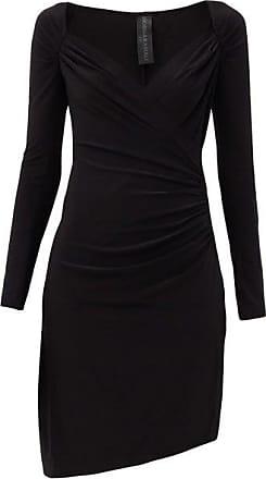 Norma Kamali Sweetheart-neck Jersey Dress - Womens - Black