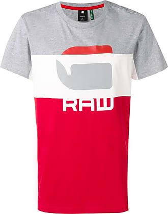 G-Star Raw Research Camiseta com logo - Vermelho