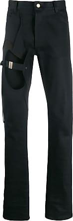 Zilver BCI cotton cut-out denim jeans - Black