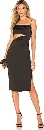 by the way. Erin Cut Out Midi Dress in Black