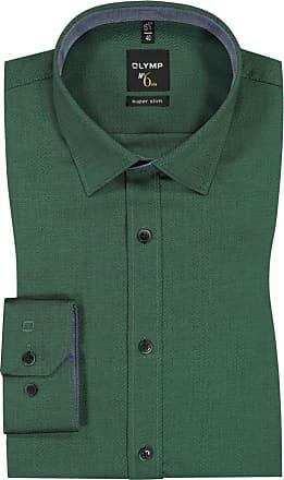 h.braun oder rot Gr.5 XL NEU Übergröße Herren Langarm Jeans Hemd in grün khaki