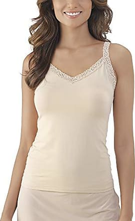 Vanity Fair Womens Plus Size Perfect Lace Spincami Camisole 17166, Damask Neutral, Small