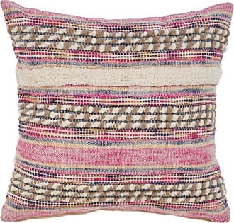 L.R. Resources Inc. Pink Tribal Throw Pillow