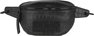 Versace Jeans Couture Belt Bags - Croco Belt Bag Black - black - Belt Bags for ladies