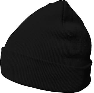 DonDon winter hat beanie warm classical design modern and soft black