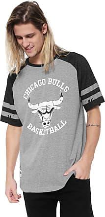 NBA Camiseta NBA Chicago Bulls Cinza
