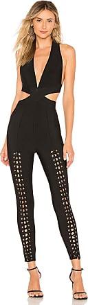 NBD x Naven Tobie Jumpsuit in Black