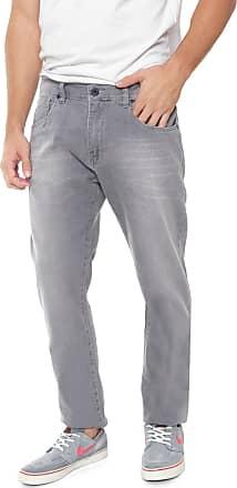 Hurley Calça Jeans Hurley Slim Narni Light Cinza