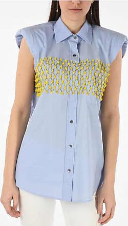 Dries Van Noten embroidered sleeveless CASULO shirt Größe 42