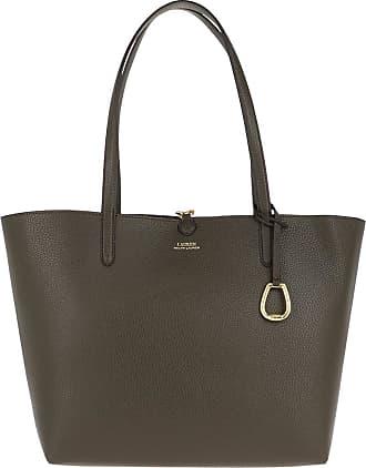 Lauren Ralph Lauren Shopping Bags - Reversible Medium Tote Bag Dark Olive/Dark Olive - green - Shopping Bags for ladies