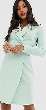 Unique21 Unique21 - Vestito stile blazer allacciato in vita-Verde