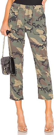 Sanctuary Peace Crop Chino Pant in Army
