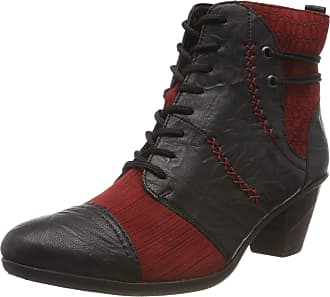 Remonte Womens D8786 Ankle Boots, Black (Schwarz/Mohn/Schwarz/Schwarz/Schwarz 05), 6.5 UK