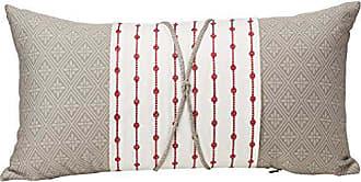 Natori Cherry Blossom Throw Pillow, 12x22, Grey