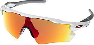 deeb99bb58 Oakley Mens Radar Ev Path Non-Polarized Iridium Rectangular Sunglasses