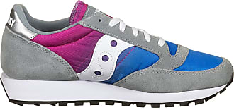 Saucony Unisex Adults Jazz Fade Grey/Blue/Pink Track and Field Shoe, 10 UK