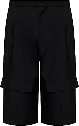 Loewe Wide Leg Shorts Mens Black