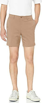 PGA TOUR Short de golf à devant plat pour homme avec ceinture active, Chinchilla, taille 36, entrejambe de 7 pouces