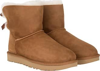 UGG Boots & Booties - W Mini Bailey Bow II Chestnut - cognac - Boots & Booties for ladies