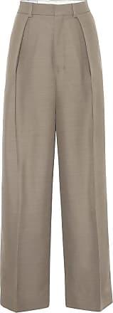 Ami High-rise wide-leg pants