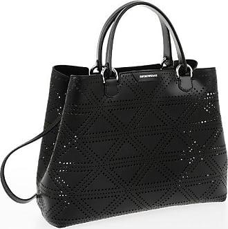 Armani EMPORIO Leather Openwork Bag Größe Unica