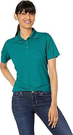 Clementine Womens Ultc-8546-short-sleeve Piqu/é Polo with Rib-Knit Collar
