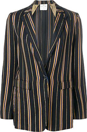 Forte_Forte striped blazer - Blue