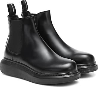 Alexander McQueen Chelsea Boots aus Leder