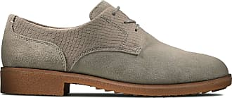 Clarks Griffin Lane Suede Shoes in Sage Wide Fit Size 7.5 Green