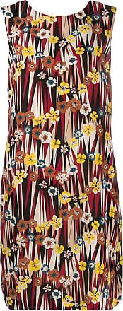 M Missoni printed shift dress - Vermelho